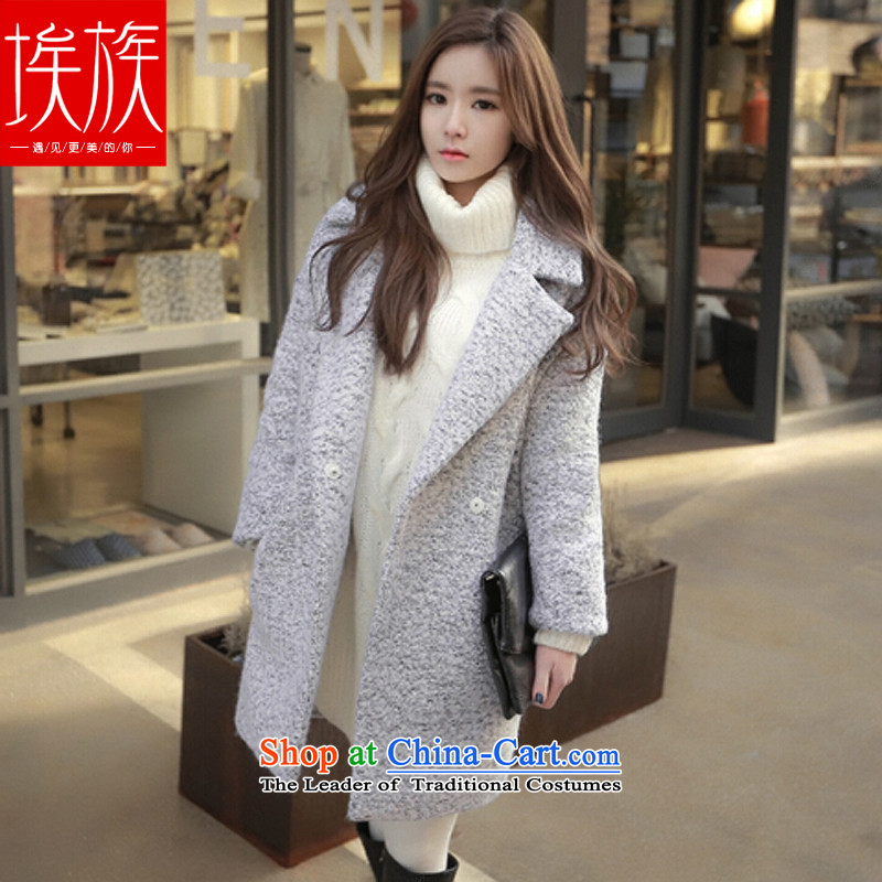 Egyptian wool coat women won? version a wool coat autumn and winter 2015. The new color pictures of theXL
