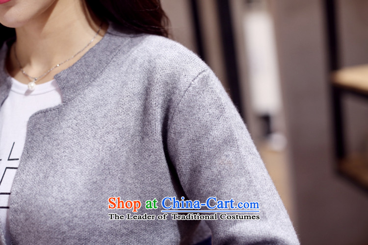 In 2015, the centers sister Zz&ff long cardigan knitwear autumn and winter new to increase women's code thick mm sweater cardigan jacket Navy Blue + green XL Photo, prices, brand platters! The elections are supplied in the national character of distribution, so action, buy now enjoy more preferential! As soon as possible.