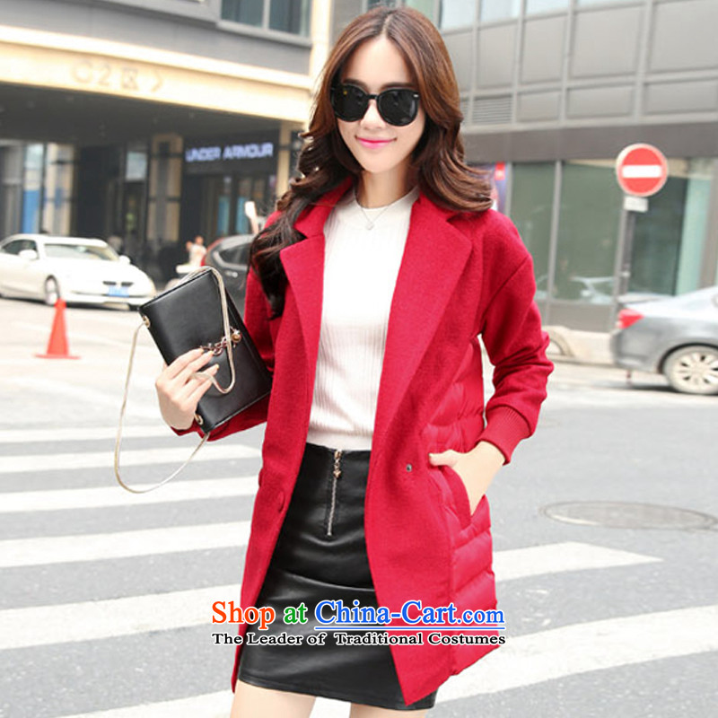 The Korean version of a red jacket temperament L