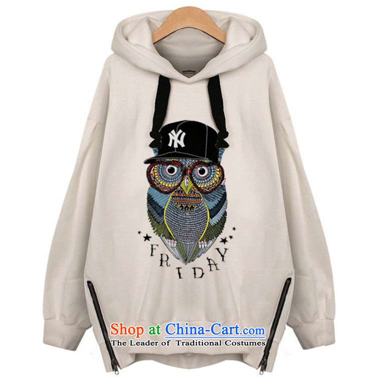 Xiang Jiang 2015 new autumn replacing xl women wear shirts thick mm long-sleeved T-shirt shirt 200 catties thick sister sweater girl jacket 7715 Light Gray large XL Photo, prices, brand platters! The elections are supplied in the national character of distribution, so action, buy now enjoy more preferential! As soon as possible.
