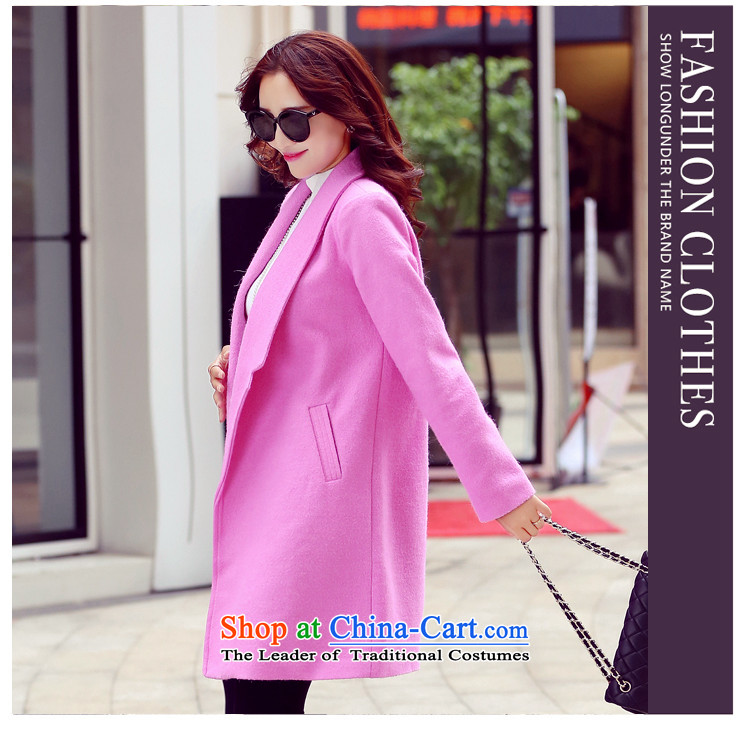 The Champs Elysees Love Honey? jacket women 2015 gross autumn and winter new Korean female decorated gross? graphics are overcoats in thin long a wool coat gray聽M picture, prices, brand platters! The elections are supplied in the national character of distribution, so action, buy now enjoy more preferential! As soon as possible.