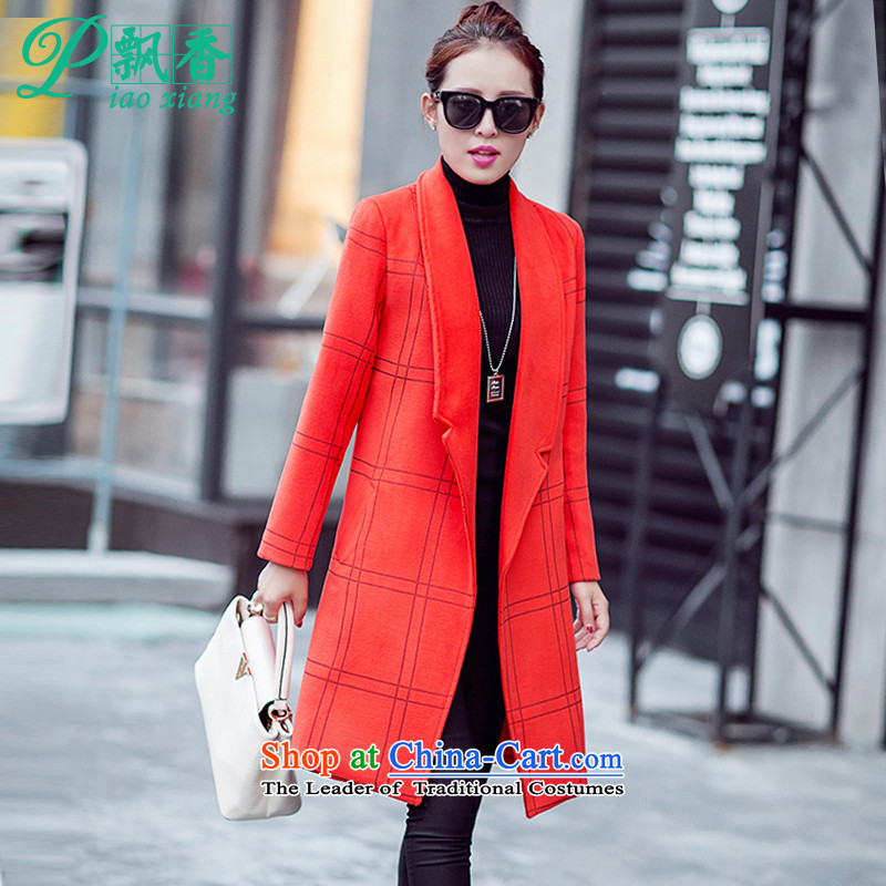 The scent of the new Europe and the 2015 autumn atmosphere suits for gross V1654 jacket? orange� XXL