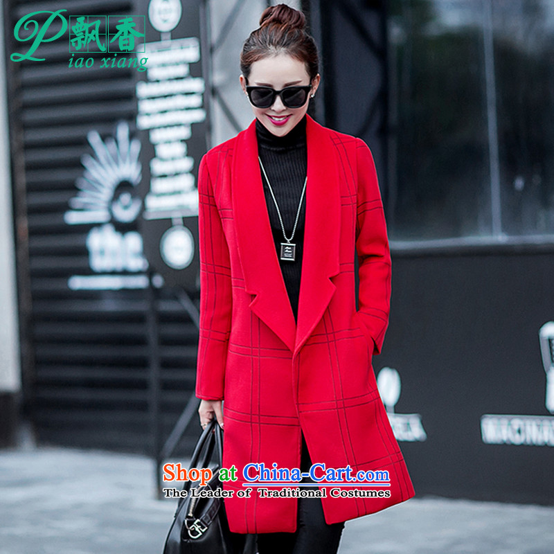 The scent of the new Europe and the 2015 autumn atmosphere suits for gross V1654 jacket? red XL
