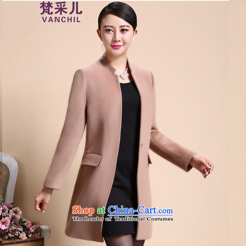 Van Gogh Cherrie Ying new gross girls jacket? Long fall inside a wool coat girl and color 8566 L