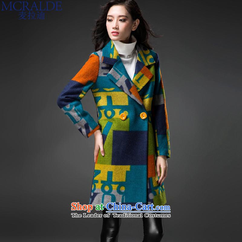 Mr Elbaradei? 2015 Korean female coats gross jacket in long? classic letters gross coats female 3,789 abounds?燲L