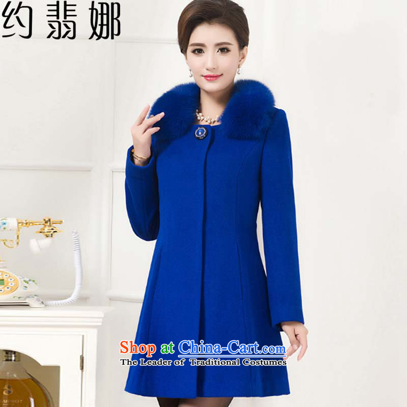 About the�15 autumn and winter desecrated by the new gross Washable Wool Sweater larger women?. Middle-aged moms long load�239燘lue XXXXL