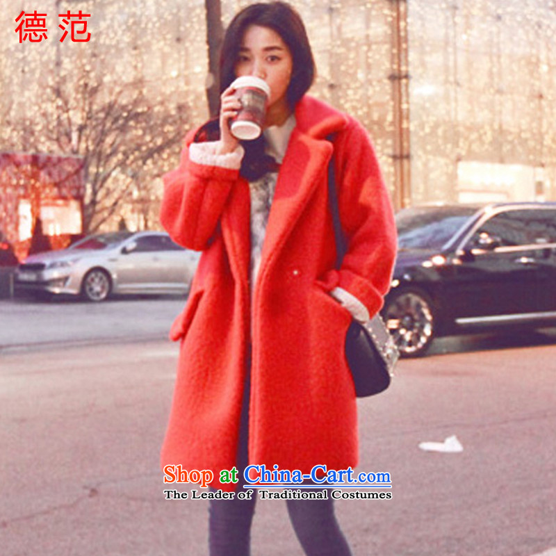 Van de�15 Fall_Winter Collections female new marker-coats, wool? long so sub picture color jacket燤