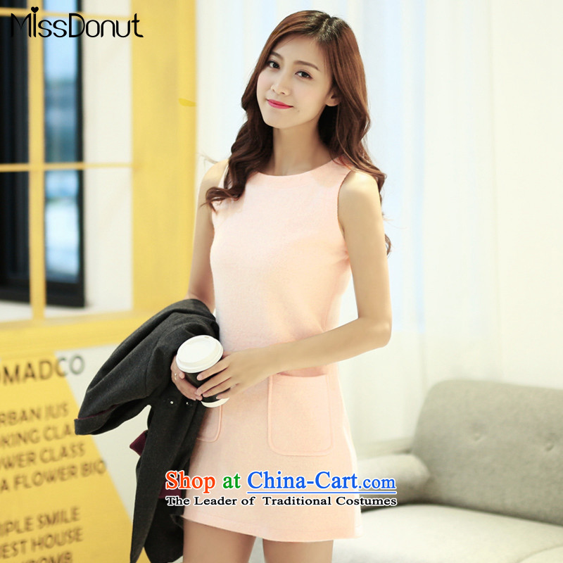To increase the number missdonut female thick mm sister graphics for autumn and winter, thin hair? skirt wear the vest 200 catties a skirt wild pink dresses larger XXL recommendations 150-165��catty