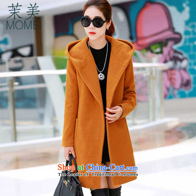 Energy and the 2015 winter clothing in New Sau San long cap thick hair? coats and color聽L ez5298 female