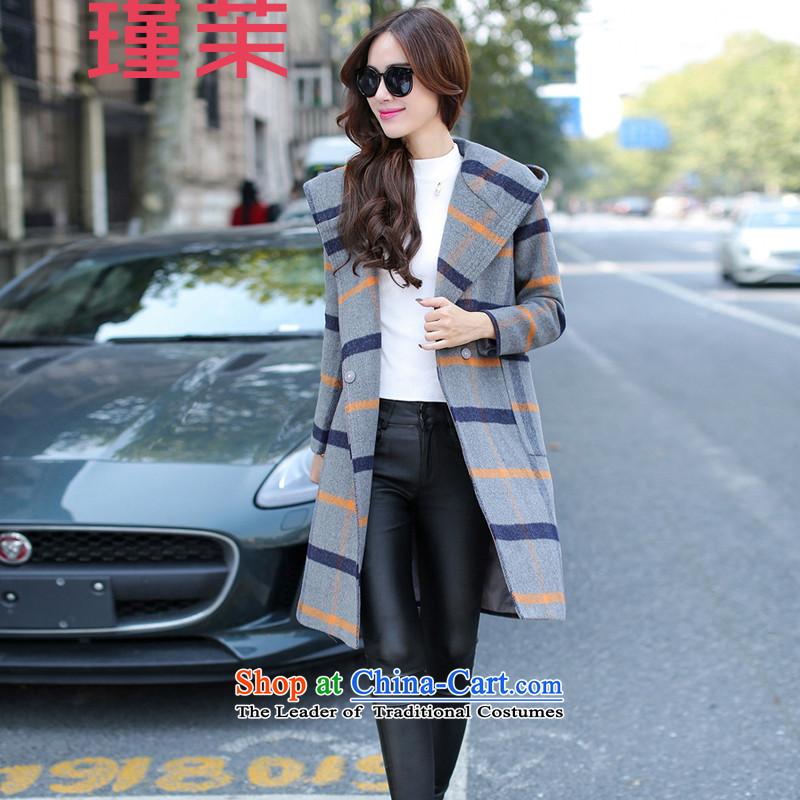 Jin energy 201 autumn and winter coats female Gross Gross?? coats female Gray燣