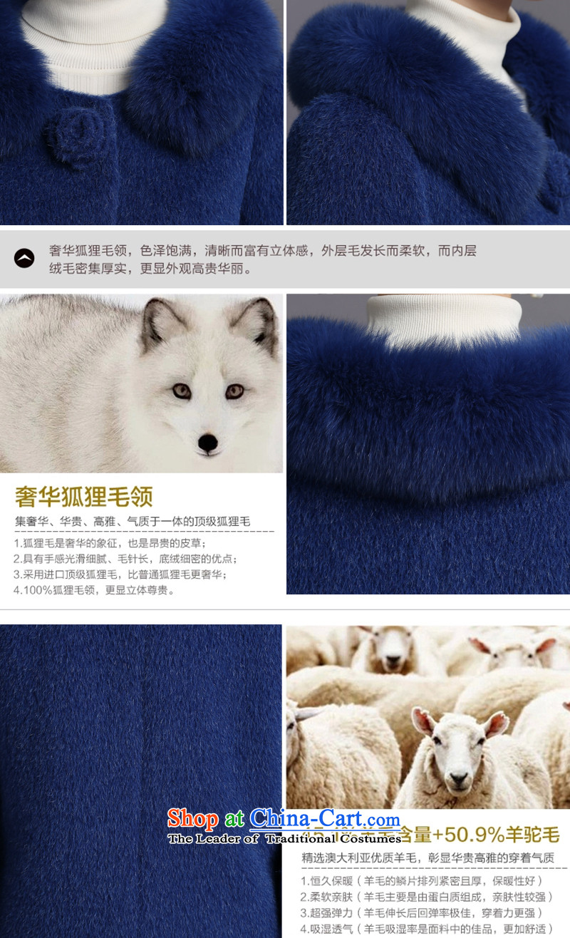 Non-marking cashmere overcoat years female 2015 new wool coat fox gross for? premium brands, winter counters genuine hibiscus purple M picture, prices, brand platters! The elections are supplied in the national character of distribution, so action, buy now enjoy more preferential! As soon as possible.