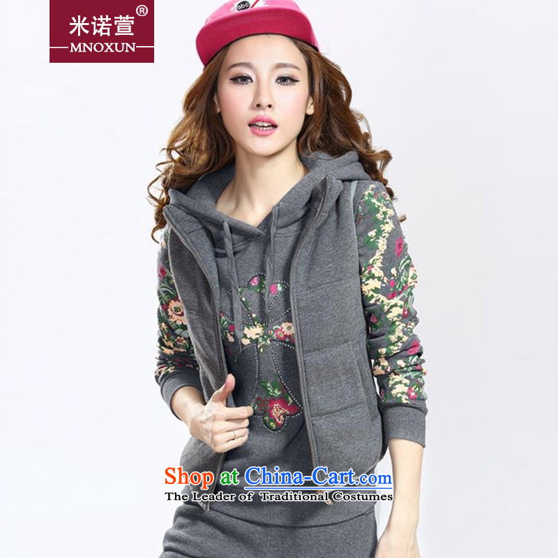 Mineau Xuan Chu load new by 2015 sweater kits thick plus kit燢531_ lint-free牋XXXL Carbon