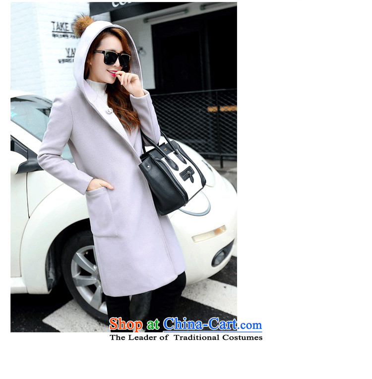 100 Yi section gross jacket female autumn and winter?) Autumn 2015 for women Korean female coats of Sau San Mao? 6868 m Gray聽L picture, prices, brand platters! The elections are supplied in the national character of distribution, so action, buy now enjoy more preferential! As soon as possible.