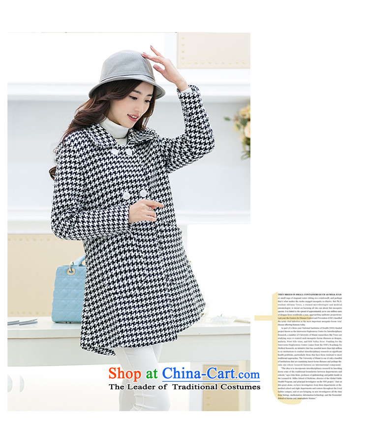 For M-聽Large 2015 Fall/Winter Collections for women to increase new chidori grid gross? overcoat Sau San monochrome chidori grid聽3XL picture, prices, brand platters! The elections are supplied in the national character of distribution, so action, buy now enjoy more preferential! As soon as possible.