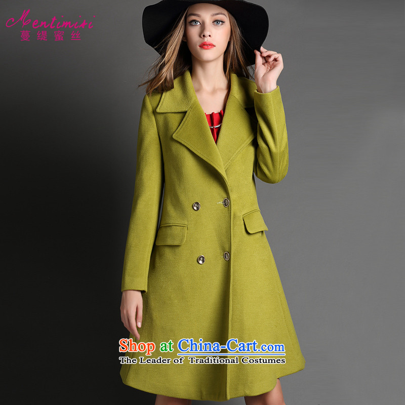 Overgrown Tomb economy honey silk dress code King Western Winter Jackets Solid Color thick warm gross? green overcoat 5029 large 5XL around 922.747 200