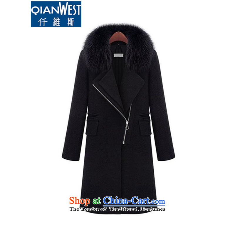 The Scarlet Letter, larger female thick sister autumn and winter coats�15 autumn and winter? New larger female western style thick mm black hair for gross?_�L thick black coat爓eight recommendations 140-160 characters catty