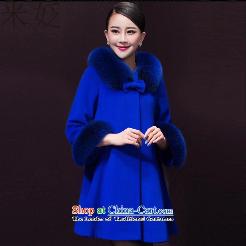 M ? 2015 for women in new long large women's gross?�39 female coats燽lue� XL