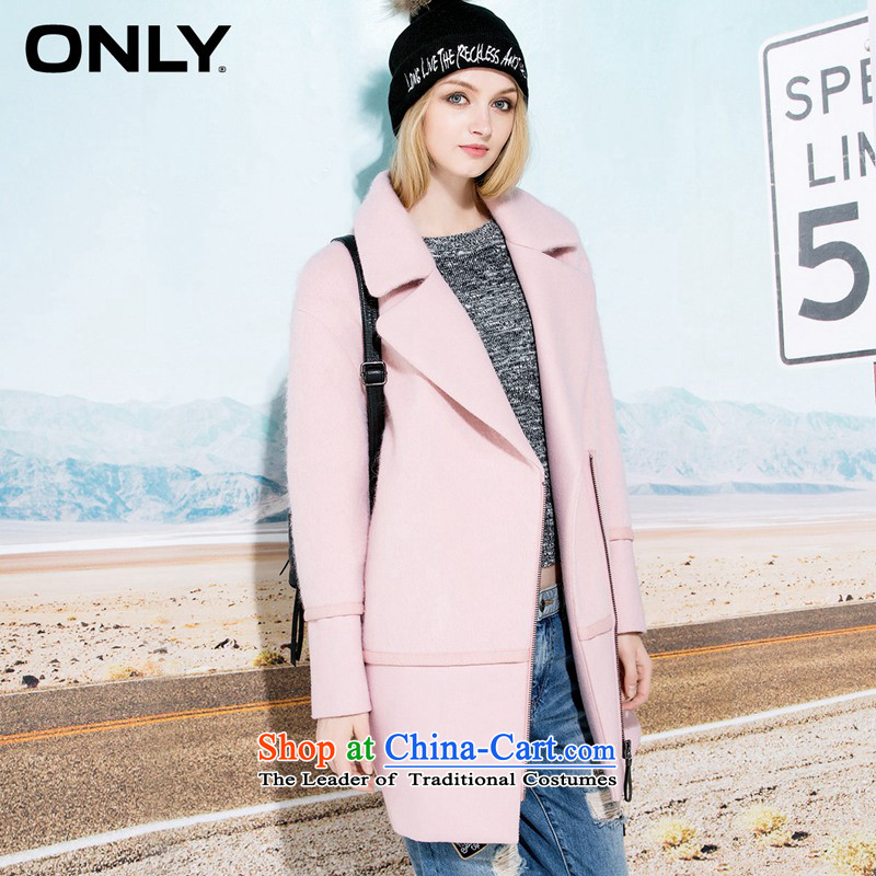 Only2015 winter clothing new products included in the wool long a zipper stitching gross? female T|11544s003 coats and color�0_88A_L I should be grateful if you would have 116