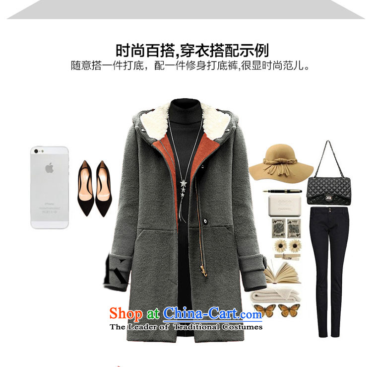 Ya Jennifer 2015 autumn and winter new Korean Sau San with cap plush coat jacket women gross?聽YNH2515聽Qiu Xiang green聽L picture, prices, brand platters! The elections are supplied in the national character of distribution, so action, buy now enjoy more preferential! As soon as possible.