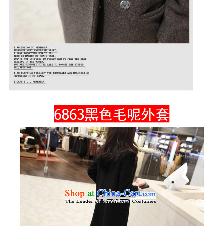 The litany of Korean m gross girls jacket? Long New Sau San thick hair? coats Black聽XL Photo, prices, brand platters! The elections are supplied in the national character of distribution, so action, buy now enjoy more preferential! As soon as possible.