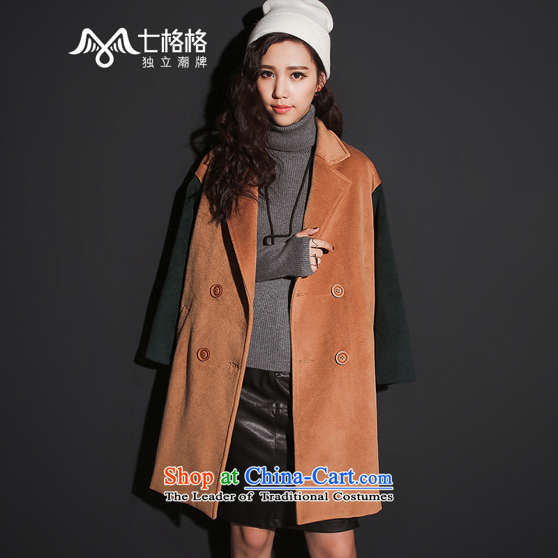 _Non-dual 12 7- Pearl?�15 winter coats gross new spell color in the double-long jacket, girls and Color燤