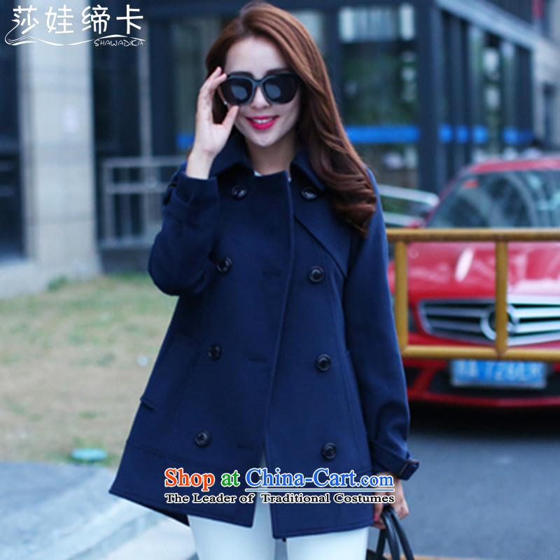 Elisabeth wa concluded to increase female card gross girls jacket? Long 200 catties larger female winter jackets for winter sister thick extra-thick girls' Graphics thin blue_�0 to 165 catties XXL can penetrate