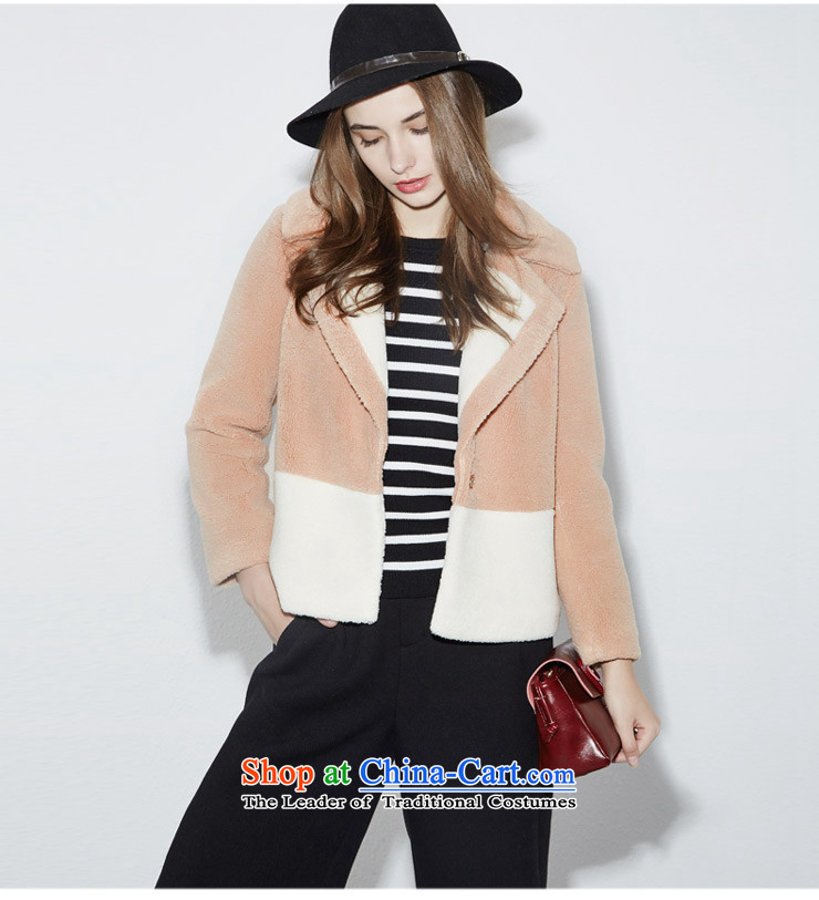 [i] to buy three from Hong Lai Ying 2015 winter clothing new Korean citizenry and color stitching lamb Maomao jacket female short)? coffee 33 S picture, prices, brand platters! The elections are supplied in the national character of distribution, so action, buy now enjoy more preferential! As soon as possible.