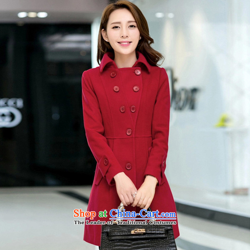 The Korean version of childcare Atlas Copco cloak gross 163 large red jacket?聽XL