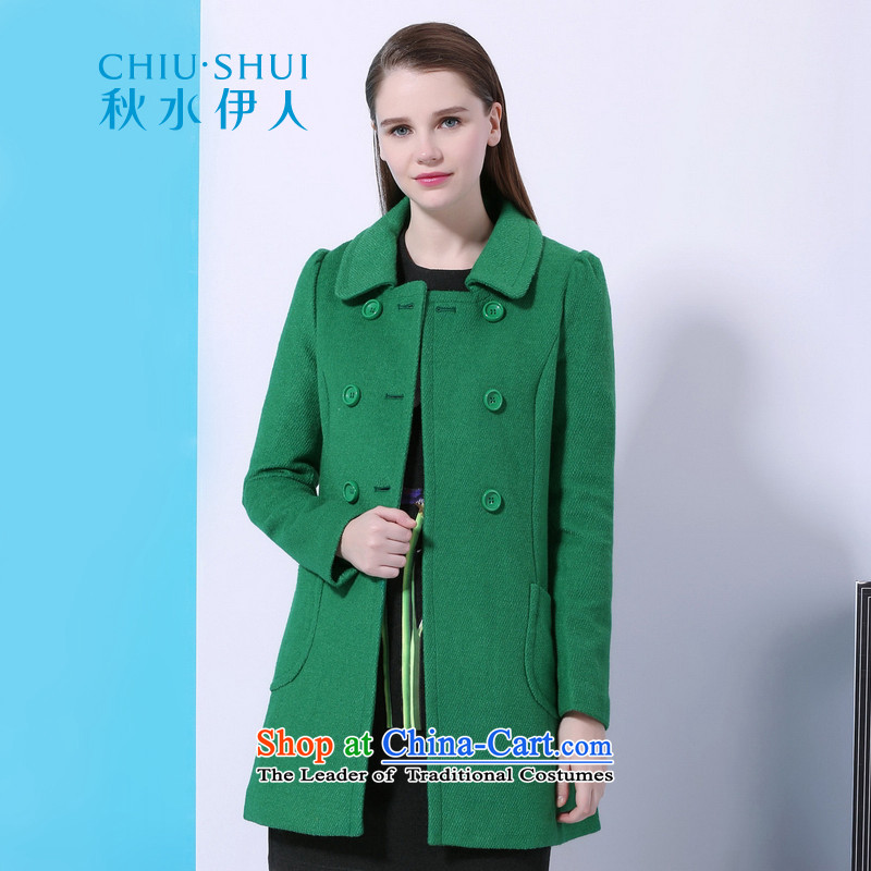 Chaplain who 2015 winter clothing new women's campaign in A gross sub-long coats of green 170/92A/XL?