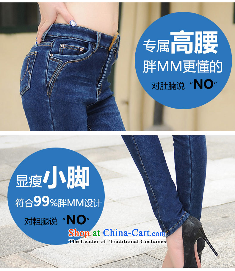 Nos 2015 winter thick mm to intensify the lint-free warm Top Loin of thick jeans pants castor larger female Y66181 black 40 pictures, prices, brand platters! The elections are supplied in the national character of distribution, so action, buy now enjoy more preferential! As soon as possible.