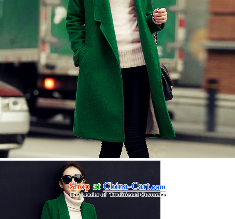 A7a2015 autumn and winter new gross female Korean jacket? In the long load lint-free a wool coat A46 and colors plus lint-free聽code pictures, price M, brand platters! The elections are supplied in the national character of distribution, so action, buy now enjoy more preferential! As soon as possible.
