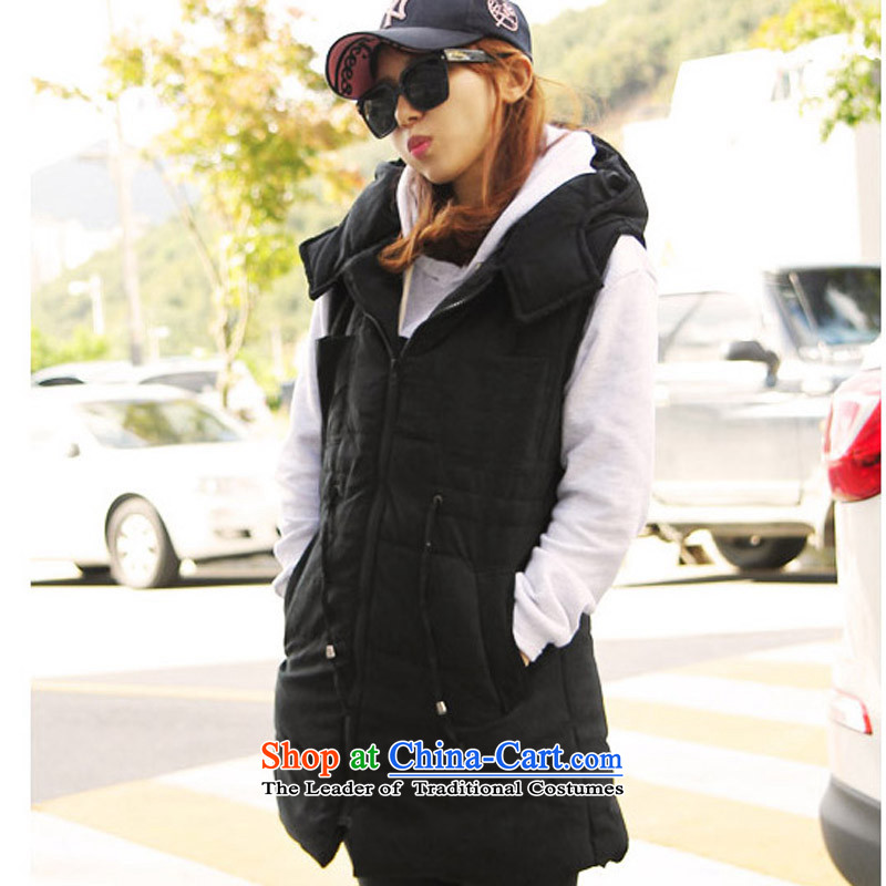 Five Rams City larger vest jacket 2015 new large autumn and winter, lint-free cotton waffle) plus thick sister leisure graphics, vest jacket thin black 4XL recommendations 160-180 around 922.747, Five Rams City shopping on the Internet has been pressed.