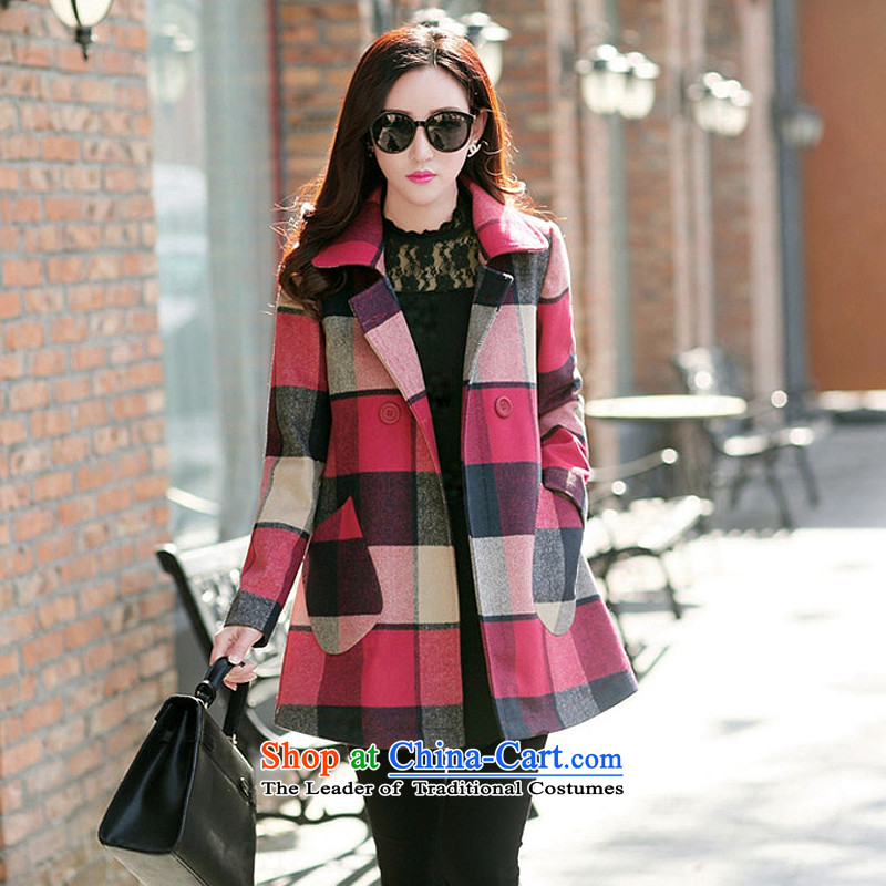 Yi products e Double-grid color photo of gross? jacket GT9612 L