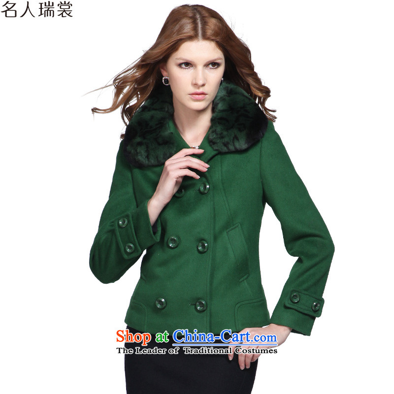 The Korean version of the double-jacket celebrity, so gross advisory Winter Sweater for thick hair? coats of Sau San green聽XXL