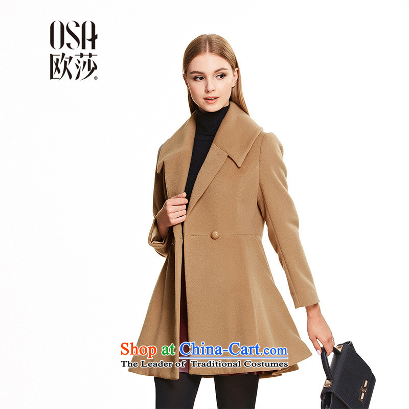 The OSA EURO 2015 winter clothes Elizabeth new products?燬D556006 jacket燼nd hair color燲XL