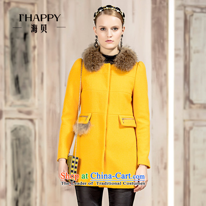 Seashell  2015 winter contemporary lines withholding mine campaign split single child in long load coats gross apricot S