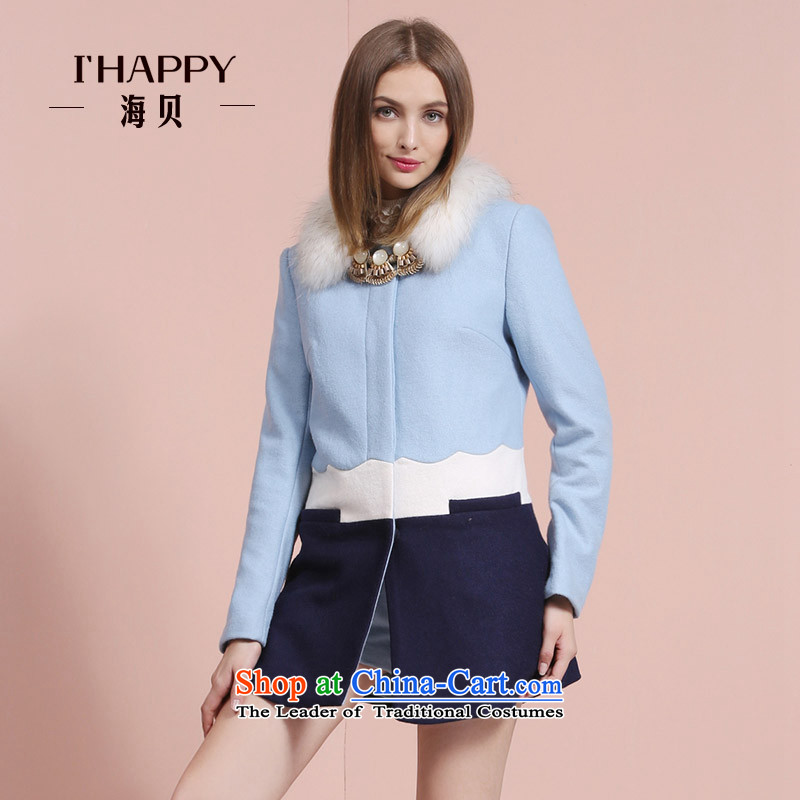 Seashell 2015 winter spell colors for a field in the Foutune of long long-sleeved blue coat gross? BlueM