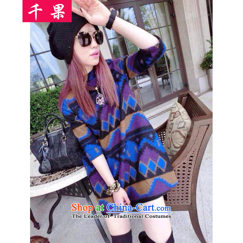 The results of the�15 autumn and winter fat mm to xl forming the relaxd dress shirt thick sister Sau San video thin hair? dresses coat 5789燼round 922.747 5XL175-215 color picture