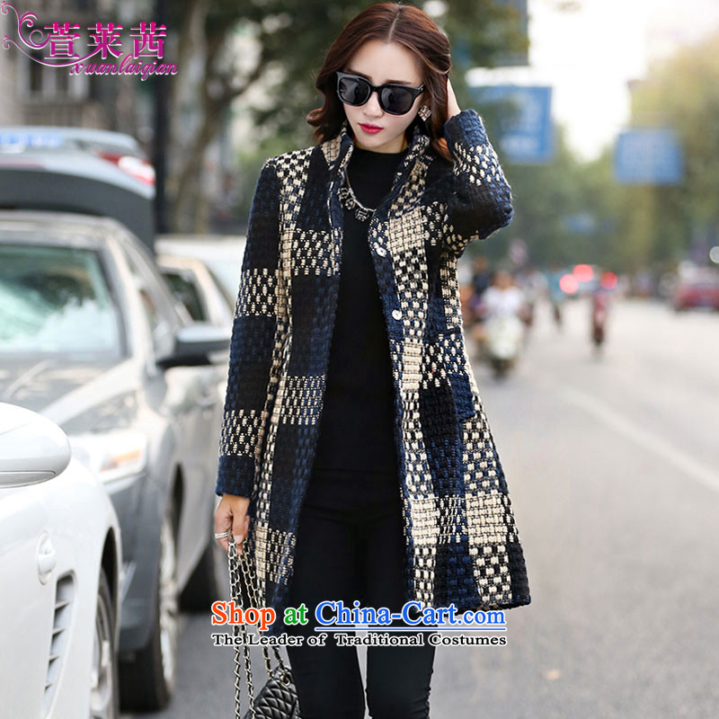 Xuan, Mrs Ure 2015 autumn and winter in a compartment of the new long hair? Jacket Korean female a wool coat   Tibetan CZINGER XXL