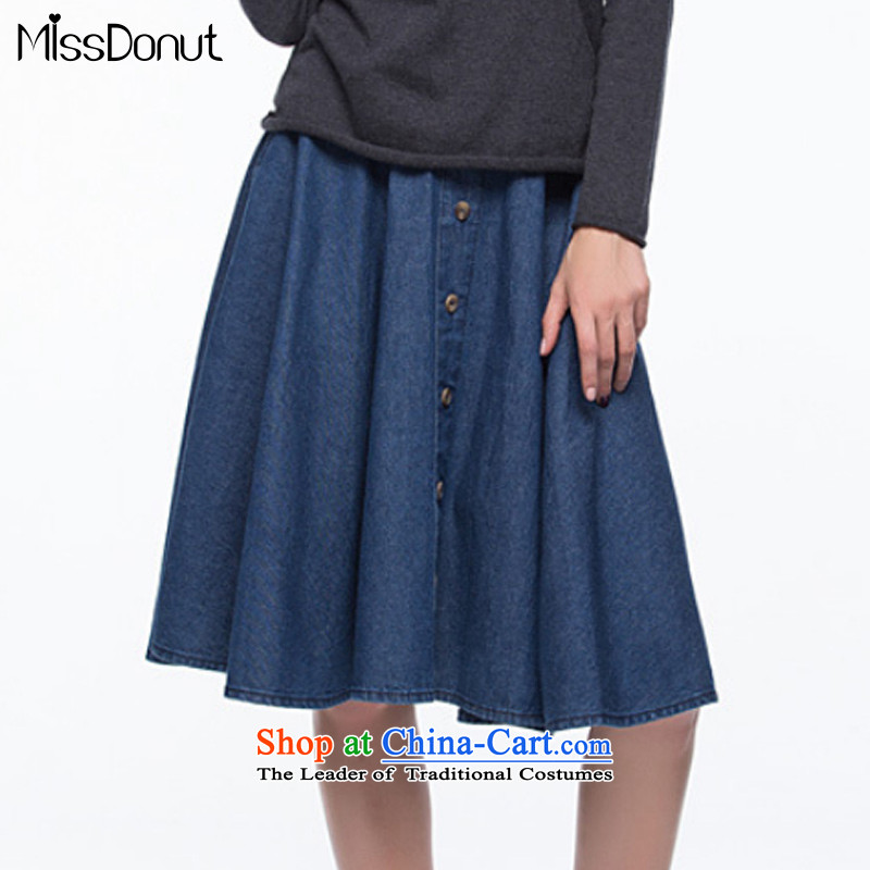 To increase the number missdonut female autumn and winter denim dress 200 catties western thick mm package and upper body skirts sister video thin skirts large large blue skirt 6XL code