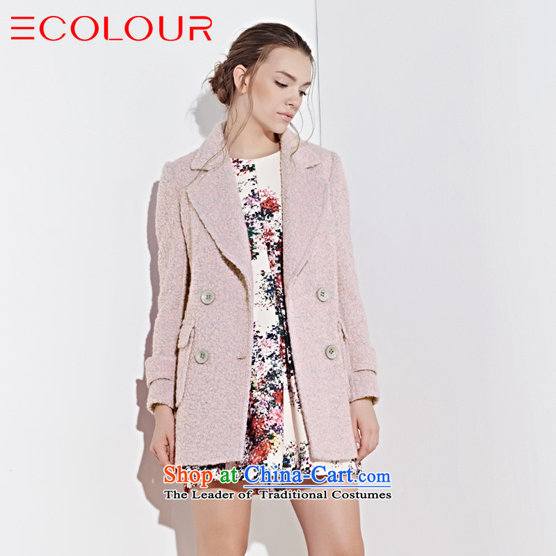 The new 2015 WINTER LONDON wind lapel circle in long coats? What gross pink?170_92A_XL D442036D Jacket