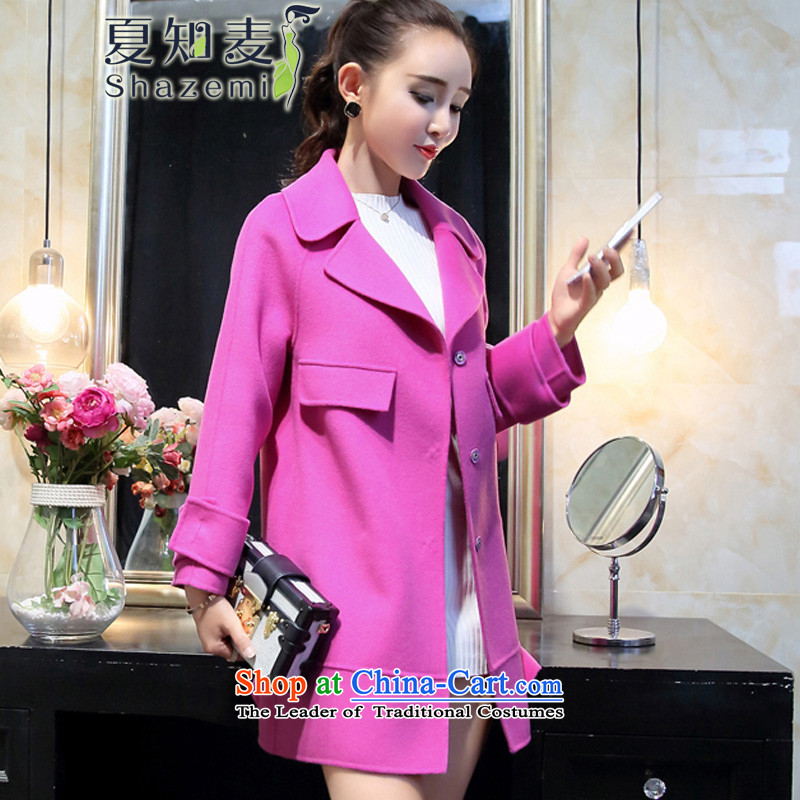 Mr Ronald know autumn and winter in long double-sided Fleece Jacket coat GT-6010? The Red L