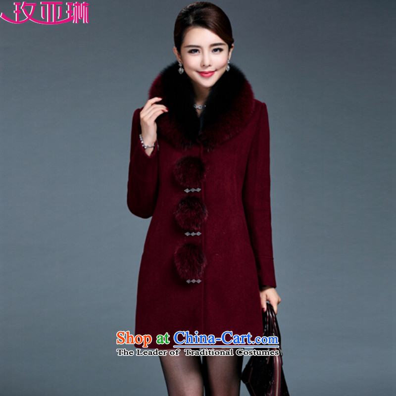 In the�15 winter clothing new rim for women on the new Korean version of winter in large numbers of older women jacket coat gross?�50燛nglish thoroughbred�L