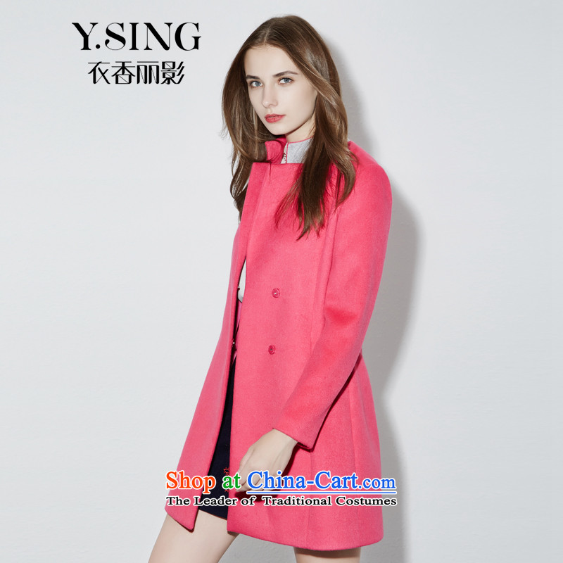 [i] to buy three from Hong Lai Ying 2015 winter clothing new white-collar elegant look straight jacket girl of gross? Red (14) L