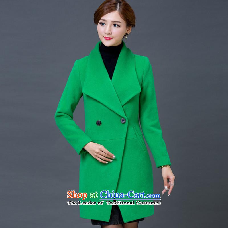 Yi Jin Long in No. Gross green coats NRJ5842? M