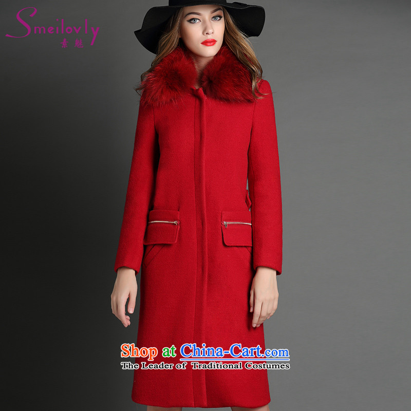 The Director of the European Women's large site mm thick winter clothing in long Leisure Cardigan thin hair? Graphics Sau San overcoat�45燽ig red code 4XL around 922.747 180