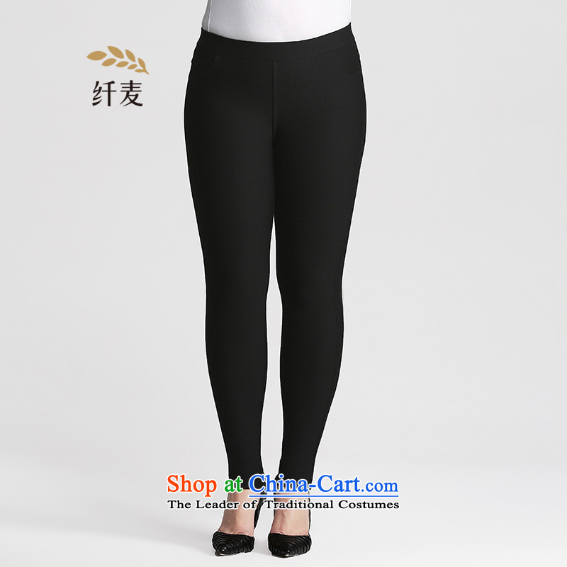 The former Yugoslavia Migdal Code women 2015 Autumn replacing new stylish candy colored mm thick wild forming the trousers femaleblack5XL 953281880