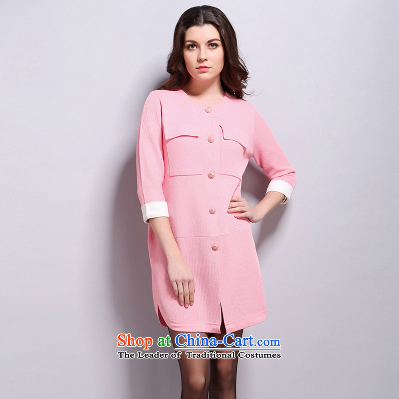 Women in the autumn oopsciah wild OL Wind Jacket� 93066 card Classic pink L