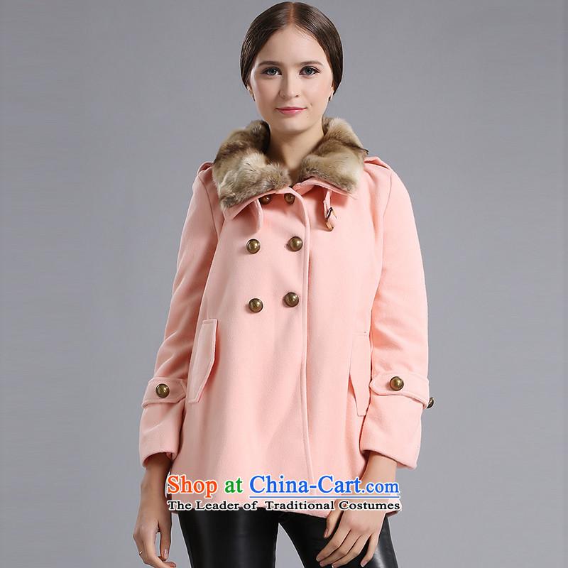 Blue silk Doi _gross_? jacket lansdaLK10090A9toner orangeL