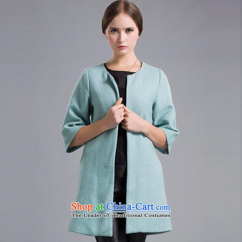 Blue silk Doi爈ansda牋L10215B9 gross? jacket爂reen燣